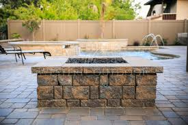square paver patio with fire pit. Brilliant Patio Exquisite Square Paver Patio With Fire Pit Intended Other Style Pits  Gallery Western Outdoor Design And