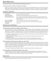Cisco Certified Network Engineer Sample Resume Ajrhinestonejewelry Com