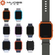 <b>Mijobs</b> Sports Silicone Wrist <b>Strap</b> for Xiaomi Huami <b>Amazfit Bip</b> BIT ...