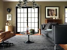 the den sofa lounge line wine bar coffee table chandelier broken stripe rug design within reach