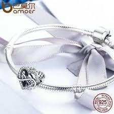 BAMOER <b>Authentic 100</b>% <b>925 Sterling</b> Silver Endless Love Infinity ...