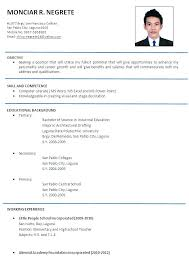 Resume Samples Format Best Of Resume Sample Format Format Sample Of Resume 24 Resume Templates Word