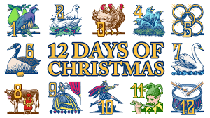 12 Days Of Christmas Problem  Mister WarkentinGifts In 12 Days Of Christmas