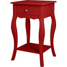 red end table pair of chinese red lacquer end tables circa