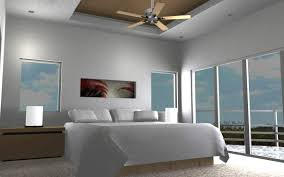 ultra modern bedrooms. Ultra Modern Bedroom With White Domination Ceiling And Open Large French Door For Ideas Bedrooms