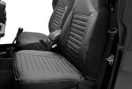 bestop 1st row black denim seat covers