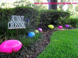easter yard seasonal home