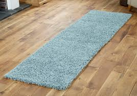 modern duck egg blue 60x230cm runner rug for hallway room soft quality rugs