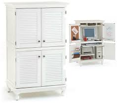 contemporary computer armoire desk computer armoire. Computer Armoire With Distressed White Finish Furniture In Plans 1 Contemporary Desk M