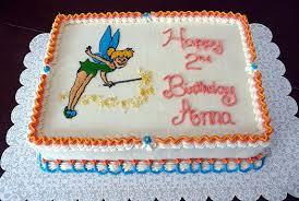 Tinkerbell Birthday Cake Brown Eyed Baker