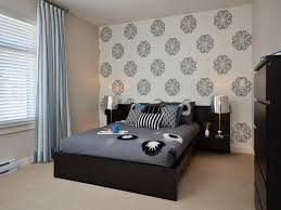 interior design on wall at home. Bedroom Wallpaper Designs At Modern Home Design Tips Impressive Wall Paper For Bedrooms Beautiful Interior On