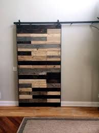 pallet sliding door for living room
