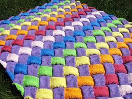 Loom Knitting Patterns Blanket Custom Decorating Design