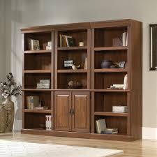 orchard hills library set sauder shelf bookcase cherry pier one coffee table wall cupboard design oak