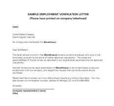 Previous Employment Verification Letter Extraordinary How To Write An Employment Verification Letter For Immigration In