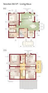 Grundriss Einfamilienhaus Mit Pultdach Architektur 5 Zimmer 150