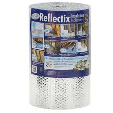 double reflective insulation with staple tab