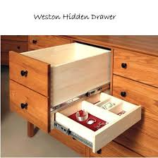 hidden drawer perfect for jewelry