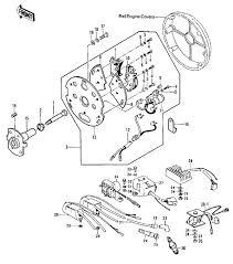 ignition rectifier regulator kawasaki z kz see parts list below