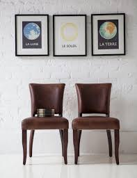 Real Leather Dining Chairs Uk