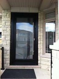 modern contemporary frosted glass front