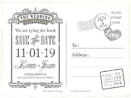 Diy Save The Date Template Tellers Me