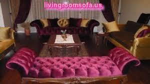 Next Design » Pink Velvet Bedroom Settee Bench · «