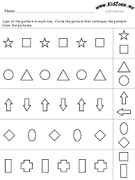 Geometry Shapes Math Worksheets And Objects Den For Grade 2 3d