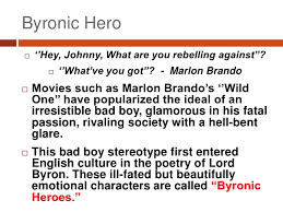 george gordon lord byron byronic hero<br
