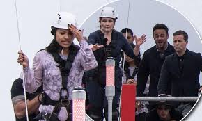 I\u0027m A Celeb contestants take part in high-rise challenge | Daily ...