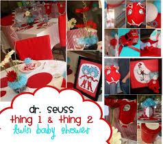 Dr Seuss Party Decorations Dr Seuss Party Ideas Birthday Baby Shower Twins Shower Theme