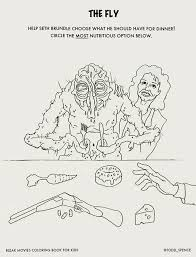 The Bleak Movies Coloring Book For Kids Gives R Rated Films A