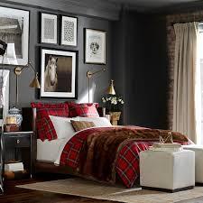 tartan bedding red williams sonoma plaid duvet covers king