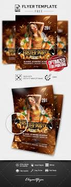 Easter Party Flyer Free Flyer Psd Template