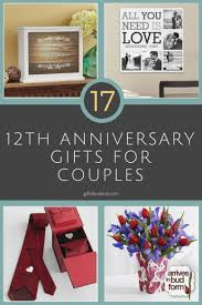 12 good 12th wedding anniversary gift ideas for him unique 25th wedding anniversary gifts for