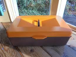 Vintage Schoenpoetsdoos Schuhputz Box Schuh Box Schuputzbox Bekrolite Plastiks Assen Holland 1970 S