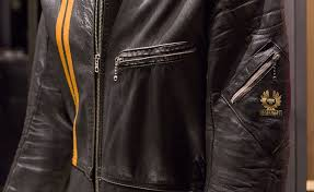 belstaff archive leather jacket