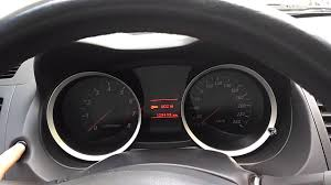 Mitsubishi Lancer Reset Service Light Mitsubishi Lancer 2010 Service Reminder Setup And Reset