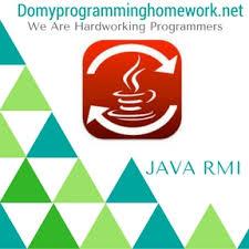 DO MY JAVA RMI HOMEWORK Online Programming Homework Help Do My Programming Homework