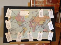 Map Seating Chart Wedding Alternative Seating Plan Ideas Weddings Wasing Park