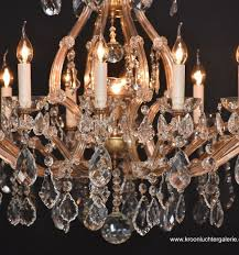 large chandelier in the style of maria theresia with 17 light