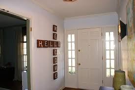Image of: wall decor for entryway