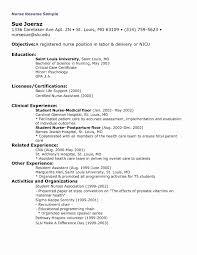 Nurse Resume Examples Elegant Sample New Grad Nursing Resume Fresh
