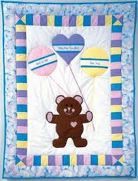 Best 25+ Teddy bear quilt pattern ideas on Pinterest   Teddy bear ... & Birth Bear Baby Quilt Pattern Adamdwight.com
