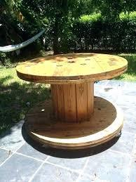 wood spool table ideas spool coffee table wooden spool table patio table out of wooden spool wood spool table ideas