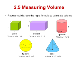 volume equation cube. did know you could find the volume or any 3 dimensional shape using just one formula? see next slide for amazing formula!!! equation cube o