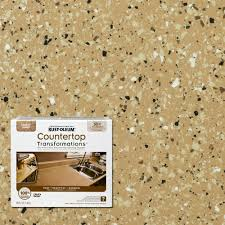 Counter Top Paint Rust Oleum Transformations 48 Oz Charcoal Small Countertop Kit