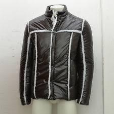 new maison martin margiela brown insulated ski jacket with trim rrp 600 bnwt