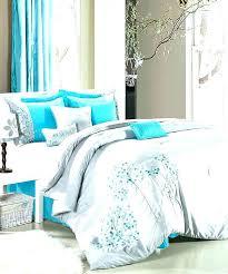 turquoise and white bedding artisan reversible twin comforter set in grey tie dye white household gray turquoise and white bedding