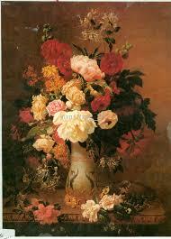 famous flower oil painting decoration flowers basket